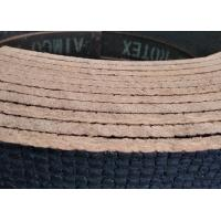 Buy cheap Customized Flexible Non Asbestos Woven Brake Lining Roll Copper Wire Inside from wholesalers