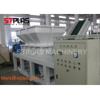 Buy cheap Industrial Double Shaft Chipper Shredder Machine for Plastic bottle and bags from wholesalers