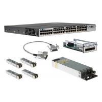 Cisco Gigabit Ethernet 48 Port PoE IP Base Internet Switch WS-C3750X-48P-S