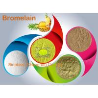 Buy cheap 2,400GDU/g Light Yellow Bromelain Protease Enzyme For Animal Nutrition SINOzym-BR2400FE from wholesalers
