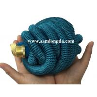 Buy cheap 2017 Expandable Garden hose,50FT strongest garden hose with brass quick coupling, green color expanding water hose from wholesalers