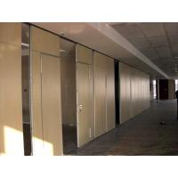 Buy cheap Sliding Folding Office Sound Proof Wall Partition Commercial Interior Door Aluminium Trolley from wholesalers