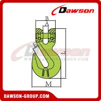 Buy cheap Grade 100 Clevis Shortening Cradle Grab Hook with Wings for Adjust Chain Length from wholesalers