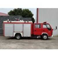 Buy cheap Inline Four Cylinder Pump Water Tanker Fire Truck from wholesalers