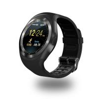 China Y1 Round Bluetooth Wearable Passometer Smart watch Sleep Tracker Business Smartwatch for Android on sale