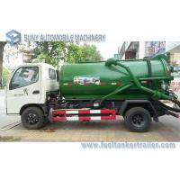 Buy cheap Foton Small 4x2 3m3 To 4m3 Sewage Suction Tanker Truck , Sewage Disposal drainage septic tank product