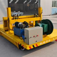 Buy cheap Manufacturer BJT Ferry Rail Transfer Cart For Workshops Transfer from wholesalers