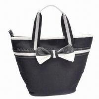 Buy cheap Canvas handbag with 190T lining, eco-friendly, suitable for promotional/gifts, OEM orders welcome  from wholesalers