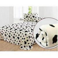 Buy cheap Customized Printing Polar Personalized No Sew Fleece Blanket for Airplane , Home , Hotel from wholesalers