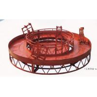 Buy cheap Rounded Lifting Suspended Platform Cradle with 1500kg Capacity product