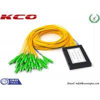 LC APC Connector Fiber Optic Splitter Module 2x32 Corning Fiber ABS