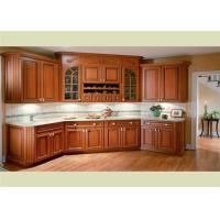 Buy cheap Solid Wood Kitchen Cabinets Customized Classic Design From Foshan from wholesalers
