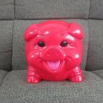 Buy cheap custom kids plastic money box cheap piggy bank from wholesalers
