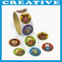 Buy cheap adhesive stickers printing sticker label printing product