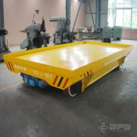 Buy cheap Shipyard 10T Motorized Transfer Trolley With Cable Reel 4000 * 2200 * 600mm Size from wholesalers