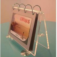Buy cheap acrylic calendar display holder from wholesalers