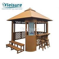 Buy cheap Brown Spa Tub Accessories Spa Enclosure Kit Easy Illustration Long Service Life from wholesalers