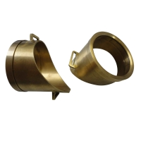 Buy cheap ISO 9001 Anodizing 0.002mm Ra 0.8 CNC Brass Parts from wholesalers