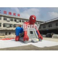 Buy cheap Custom Spiderman Inflatable Bouncer Castle / Blow Up Bounce House For Children from wholesalers