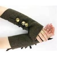 Buy cheap Funky ladies braided knit arm warmer pattern warmer fur fingerless gloves from wholesalers