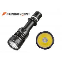 Buy cheap 10W Powerful High Beam Cree LED Torch Water Resistant 2 Switches Tactical Flashlight from wholesalers