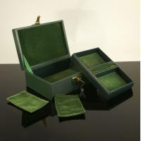 Buy cheap Wooden Jewelry Box in Leatherette product