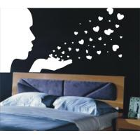 Buy cheap Heart PVC Self-adhesive Decoration Wall Sticker F260 from wholesalers