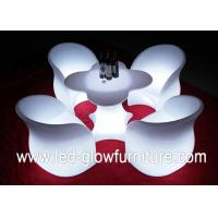 Buy cheap Chargeable LED Glow Furniture , led tables and chairs with Remote Controller for Bar from wholesalers