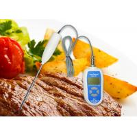 Buy cheap Lab Digital Food Thermometer High / Low Temperature Alarm With Stainless Steel Probe from wholesalers