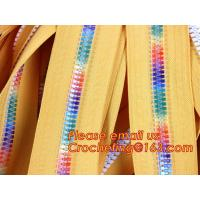 China zipper manufacturer wholesale 5# metal brass ykk zipper two open end zipper double zipper sliders garment on sale