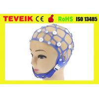 Buy cheap Good Quality 20 Channel EEG Cap without EEG Electrode M Size Separating EEG Cap from wholesalers