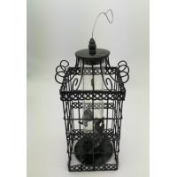4 Feeding Port Squirrel Proof Bird Feeder Stainless Cable Hanging PC Tube