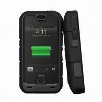 Buy cheap Pro Ruggedized Rechargeable External Battery Case for iPhone 4/4S, with 2,500mAh Capacity product