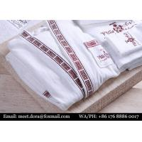 Buy cheap 100% Cotton Hotel Linen Bathrobe Personalized Embroidered Bath Towel from wholesalers