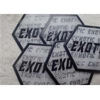 Buy cheap TPU Embossed Logo For Clothes Bags Hats Patches Self Adhesive Patches from wholesalers