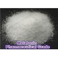 Buy cheap Pharmaceutical Raw Materials Melatonine CAS 73-31-4 for Well Sleep and Whitening from wholesalers