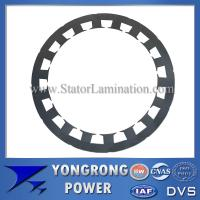 Buy cheap Premium Efficiency Permanent Magnet Sychronous Motor Silicon Steel Stator Lamination from wholesalers