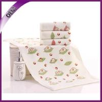 Buy cheap 100% cotton velour pinting cotton face towel for baby from wholesalers