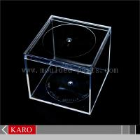 Buy cheap Clear acrylic watch display box from wholesalers