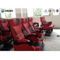 Buy cheap Genuine Leather 5D Movie Theater Electronic System Chair Metal Flat Screen product