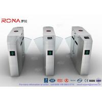 Buy cheap Anti - Reverse Retractable Turnstile Barrier Gate RS232 / RS485 550mm Passage from wholesalers