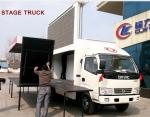 Buy cheap 2020s best price new dongfeng mobile LED advertising truck for sale, HOT SALE! customized P4/P5 outdoor LED screen truck from wholesalers