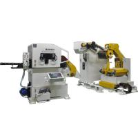 Buy cheap Thin Roll Stamping Die Disc Horizontal Coil Feeder Straightener Automatic Punching Machine from wholesalers