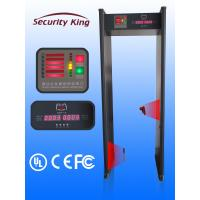 Anti Interference Security Check Walk Through Door Metal Detector Automatically Calibration
