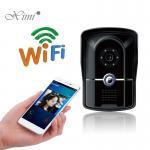 Buy cheap 110 - 240 V Wireless Intercom Doorbell , 0.47 Kg Villa Home Video Intercom from wholesalers