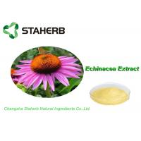 Buy cheap 100% Natural Standard Reference Materials , Herb Medicine Echinacea Purpurea Extract Cichoric Acid 2% from wholesalers