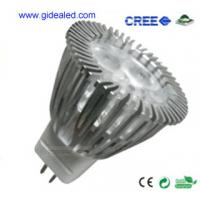 Buy cheap china  3W MR11 LED Lamp with 3*1W CREE XP-E LED 12V from wholesalers