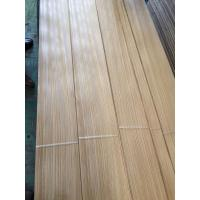 Buy cheap 0.60mm Rift Zebrano Sliced Wood Veneer for Furniture Door Architectural Woodworks and Designing from Shunfang-veneer.com from wholesalers