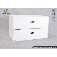 Buy cheap Customizing Cardboard Display Boxes , Cardboard Pop Displays With Big Drawer from wholesalers