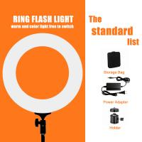 Buy cheap Pink White Black 12/18 Inch Dimmable Led Ring Light / Ring Light For Video from wholesalers